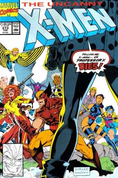Uncanny X-Men #273 Comic Books - Covers, Scans, Photos  in Uncanny X-Men Comic Books - Covers, Scans, Gallery