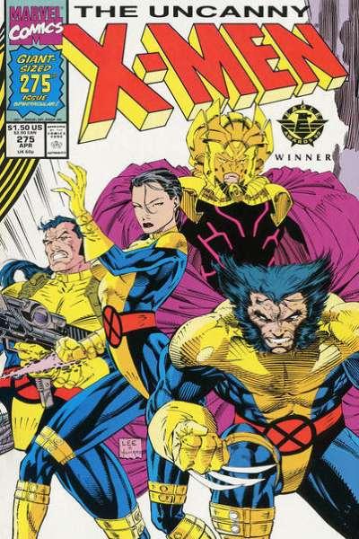 Uncanny X-Men #275 Comic Books - Covers, Scans, Photos  in Uncanny X-Men Comic Books - Covers, Scans, Gallery