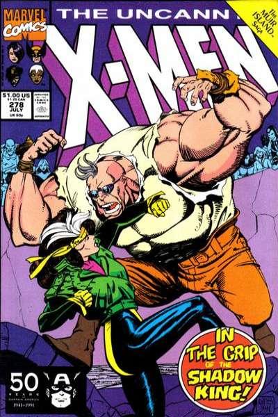 Uncanny X-Men #278 comic books for sale