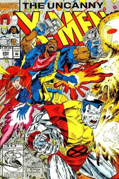 Uncanny X-Men #292 comic books for sale