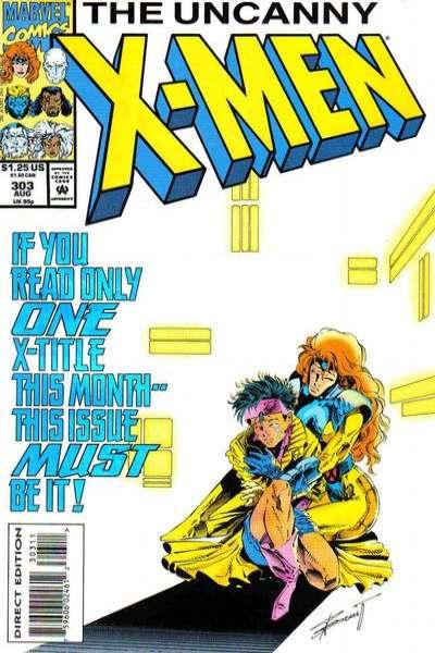 Uncanny X-Men #303 comic books for sale
