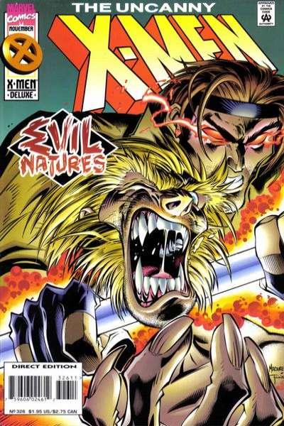 Uncanny X-Men #326 comic books for sale