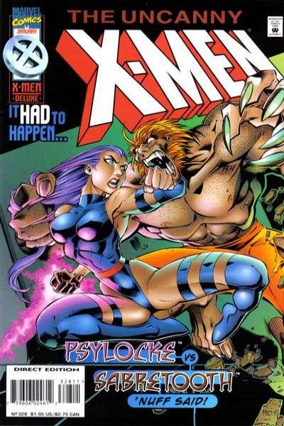 Uncanny X-Men #328 Comic Books - Covers, Scans, Photos  in Uncanny X-Men Comic Books - Covers, Scans, Gallery