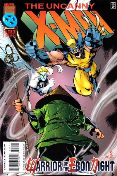 Uncanny X-Men #329 Comic Books - Covers, Scans, Photos  in Uncanny X-Men Comic Books - Covers, Scans, Gallery