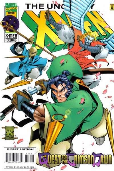 Uncanny X-Men #330 Comic Books - Covers, Scans, Photos  in Uncanny X-Men Comic Books - Covers, Scans, Gallery