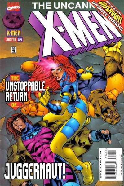 Uncanny X-Men #334 comic books for sale