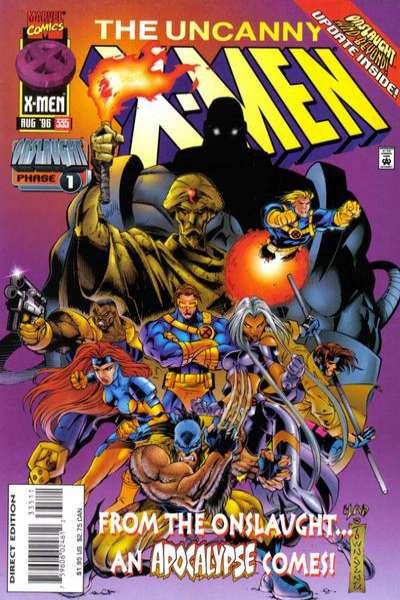 Uncanny X-Men #335 Comic Books - Covers, Scans, Photos  in Uncanny X-Men Comic Books - Covers, Scans, Gallery