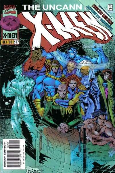 Uncanny X-Men #337 Comic Books - Covers, Scans, Photos  in Uncanny X-Men Comic Books - Covers, Scans, Gallery
