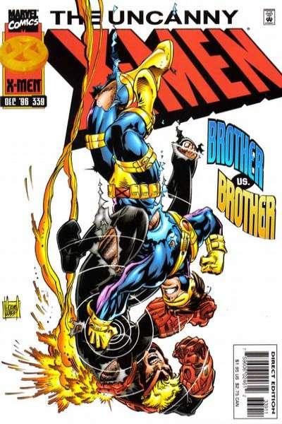 Uncanny X-Men #339 Comic Books - Covers, Scans, Photos  in Uncanny X-Men Comic Books - Covers, Scans, Gallery