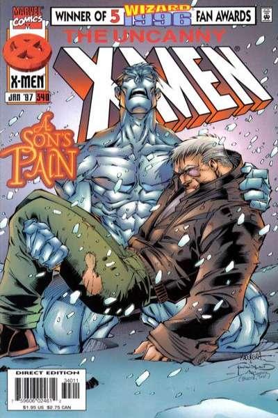 Uncanny X-Men #340 comic books for sale