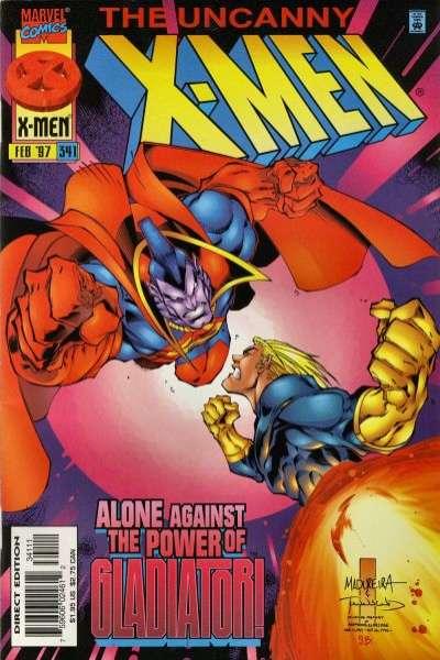 Uncanny X-Men #341 Comic Books - Covers, Scans, Photos  in Uncanny X-Men Comic Books - Covers, Scans, Gallery