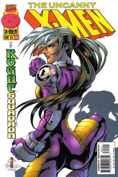 Uncanny X-Men #342 Comic Books - Covers, Scans, Photos  in Uncanny X-Men Comic Books - Covers, Scans, Gallery