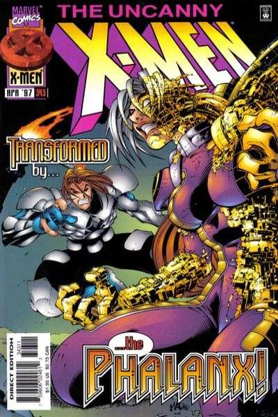 Uncanny X-Men #343 Comic Books - Covers, Scans, Photos  in Uncanny X-Men Comic Books - Covers, Scans, Gallery
