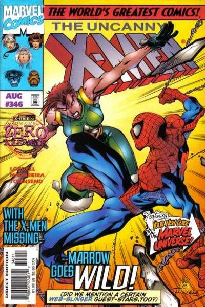 Uncanny X-Men #346 Comic Books - Covers, Scans, Photos  in Uncanny X-Men Comic Books - Covers, Scans, Gallery