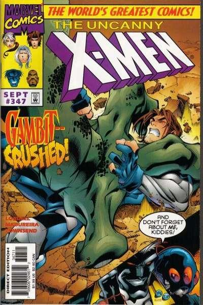 Uncanny X-Men #347 Comic Books - Covers, Scans, Photos  in Uncanny X-Men Comic Books - Covers, Scans, Gallery