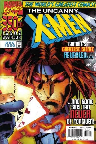 Uncanny X-Men #350 Comic Books - Covers, Scans, Photos  in Uncanny X-Men Comic Books - Covers, Scans, Gallery