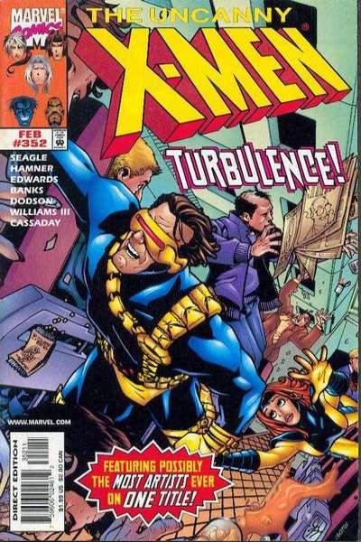 Uncanny X-Men #352 comic books for sale