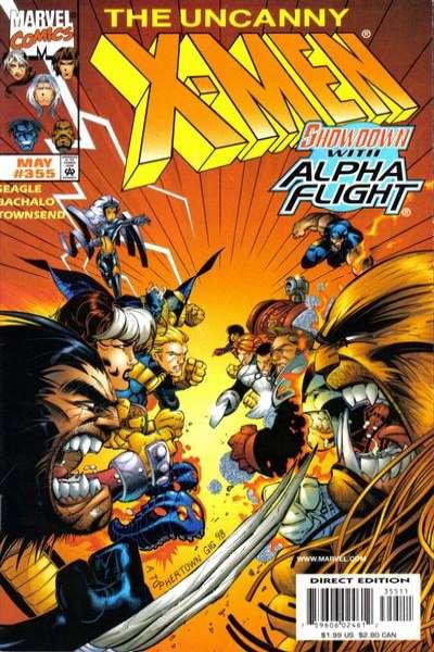 Uncanny X-Men #355 Comic Books - Covers, Scans, Photos  in Uncanny X-Men Comic Books - Covers, Scans, Gallery