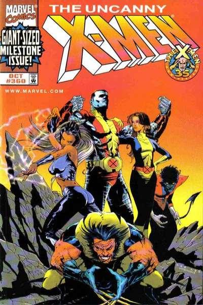 Uncanny X-Men #360 Comic Books - Covers, Scans, Photos  in Uncanny X-Men Comic Books - Covers, Scans, Gallery