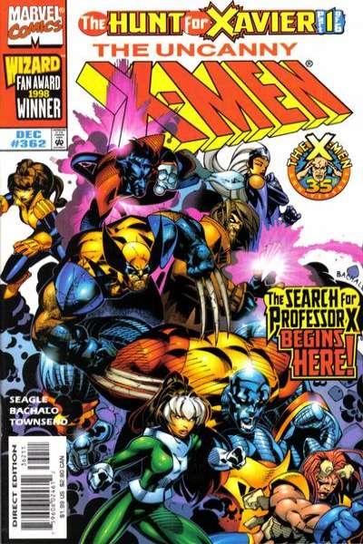 Uncanny X-Men #362 Comic Books - Covers, Scans, Photos  in Uncanny X-Men Comic Books - Covers, Scans, Gallery