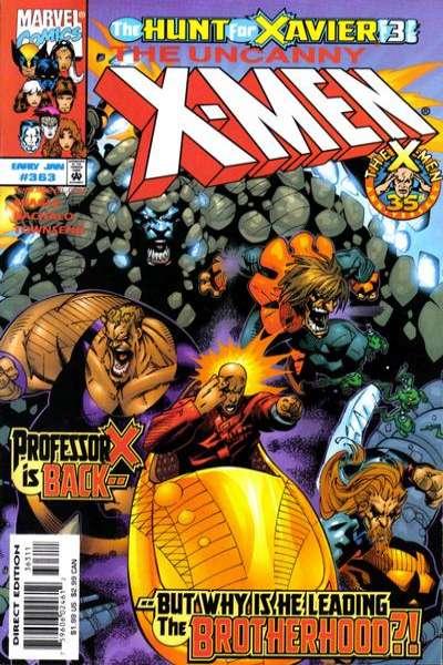 Uncanny X-Men #363 Comic Books - Covers, Scans, Photos  in Uncanny X-Men Comic Books - Covers, Scans, Gallery