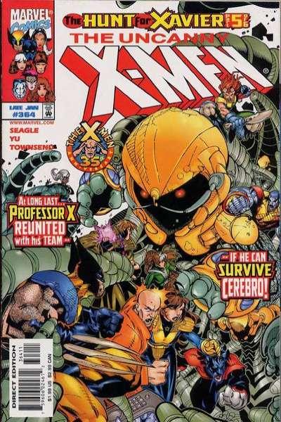 Uncanny X-Men #364 Comic Books - Covers, Scans, Photos  in Uncanny X-Men Comic Books - Covers, Scans, Gallery