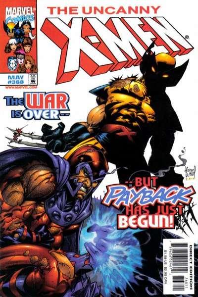 Uncanny X-Men #368 Comic Books - Covers, Scans, Photos  in Uncanny X-Men Comic Books - Covers, Scans, Gallery