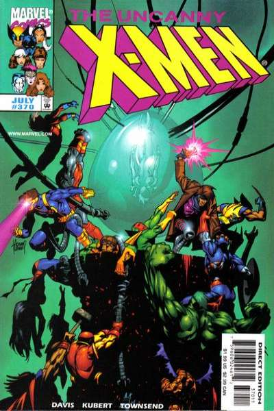Uncanny X-Men #370 comic books for sale