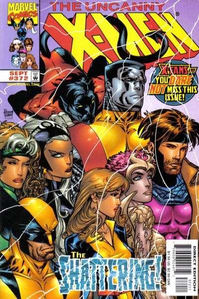 Uncanny X-Men #372 comic books for sale