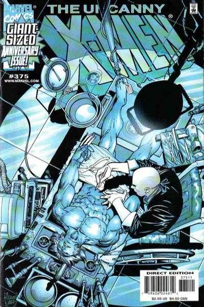 Uncanny X-Men #375 Comic Books - Covers, Scans, Photos  in Uncanny X-Men Comic Books - Covers, Scans, Gallery
