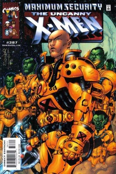 Uncanny X-Men #387 comic books for sale