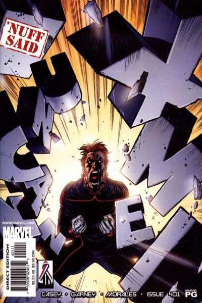 Uncanny X-Men #401 Comic Books - Covers, Scans, Photos  in Uncanny X-Men Comic Books - Covers, Scans, Gallery