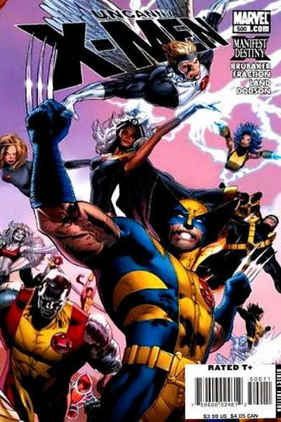 Uncanny X-Men #500 comic books for sale