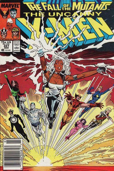 Uncanny X-Men #227 Comic Books - Covers, Scans, Photos  in Uncanny X-Men Comic Books - Covers, Scans, Gallery