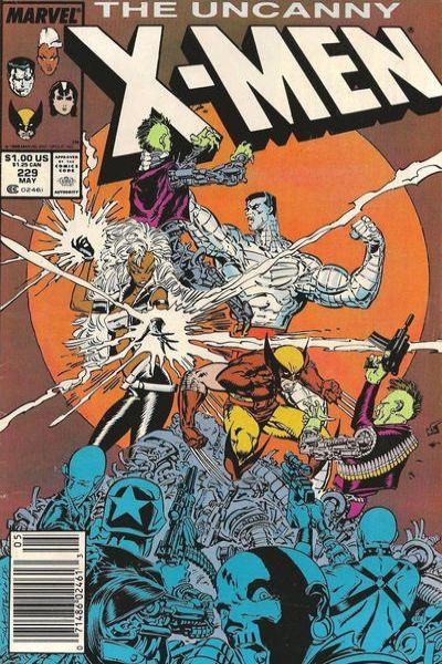 Uncanny X-Men #229 Comic Books - Covers, Scans, Photos  in Uncanny X-Men Comic Books - Covers, Scans, Gallery