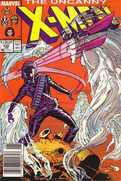 Uncanny X-Men #230 Comic Books - Covers, Scans, Photos  in Uncanny X-Men Comic Books - Covers, Scans, Gallery