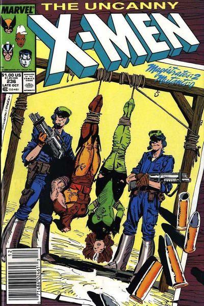 Uncanny X-Men #236 Comic Books - Covers, Scans, Photos  in Uncanny X-Men Comic Books - Covers, Scans, Gallery