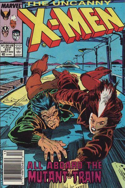Uncanny X-Men #237 Comic Books - Covers, Scans, Photos  in Uncanny X-Men Comic Books - Covers, Scans, Gallery