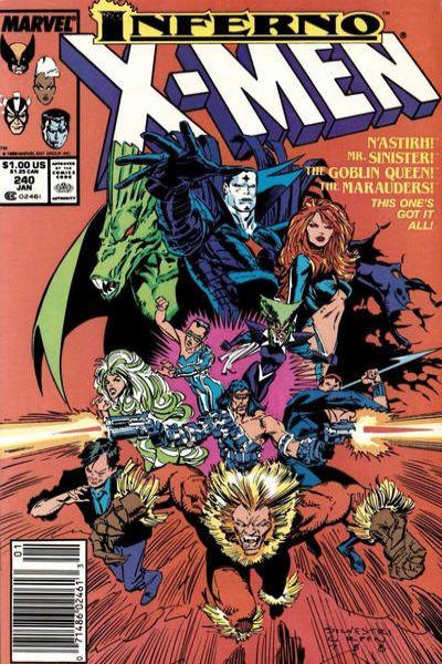 Uncanny X-Men #240 Comic Books - Covers, Scans, Photos  in Uncanny X-Men Comic Books - Covers, Scans, Gallery
