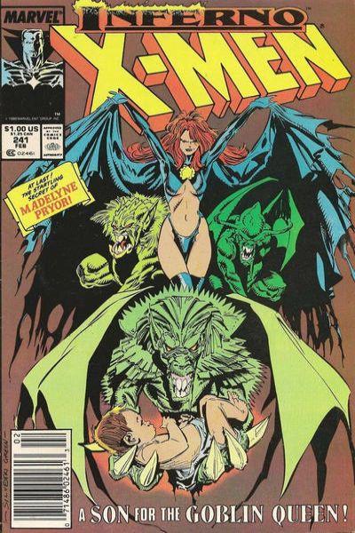 Uncanny X-Men #241 Comic Books - Covers, Scans, Photos  in Uncanny X-Men Comic Books - Covers, Scans, Gallery