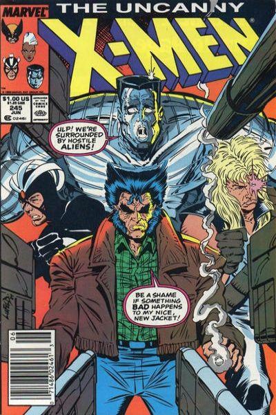 Uncanny X-Men #245 Comic Books - Covers, Scans, Photos  in Uncanny X-Men Comic Books - Covers, Scans, Gallery