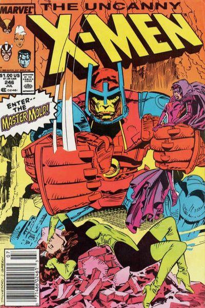 Uncanny X-Men #246 Comic Books - Covers, Scans, Photos  in Uncanny X-Men Comic Books - Covers, Scans, Gallery