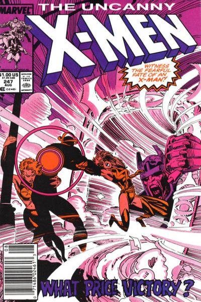 Uncanny X-Men #247 Comic Books - Covers, Scans, Photos  in Uncanny X-Men Comic Books - Covers, Scans, Gallery
