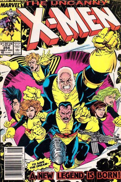 Uncanny X-Men #254 Comic Books - Covers, Scans, Photos  in Uncanny X-Men Comic Books - Covers, Scans, Gallery