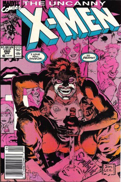 Uncanny X-Men #260 Comic Books - Covers, Scans, Photos  in Uncanny X-Men Comic Books - Covers, Scans, Gallery