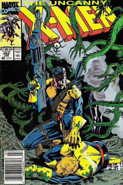 Uncanny X-Men #262 Comic Books - Covers, Scans, Photos  in Uncanny X-Men Comic Books - Covers, Scans, Gallery