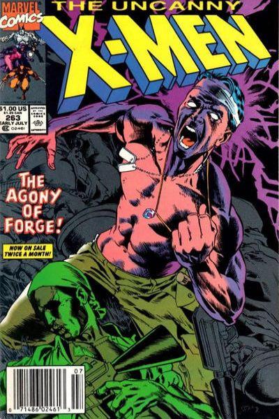 Uncanny X-Men #263 Comic Books - Covers, Scans, Photos  in Uncanny X-Men Comic Books - Covers, Scans, Gallery