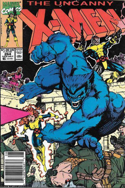 Uncanny X-Men #264 Comic Books - Covers, Scans, Photos  in Uncanny X-Men Comic Books - Covers, Scans, Gallery