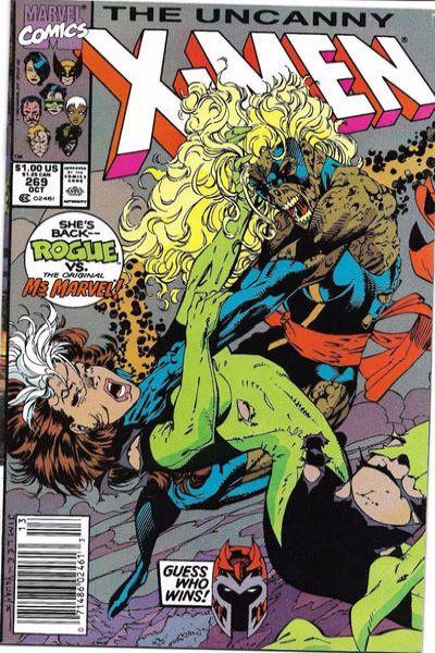 Uncanny X-Men #269 Comic Books - Covers, Scans, Photos  in Uncanny X-Men Comic Books - Covers, Scans, Gallery