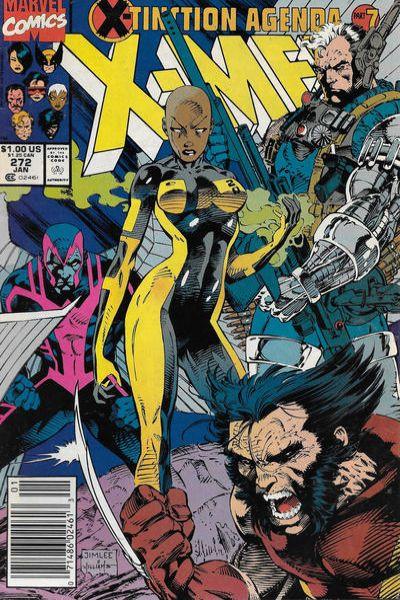 Uncanny X-Men #272 Comic Books - Covers, Scans, Photos  in Uncanny X-Men Comic Books - Covers, Scans, Gallery